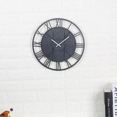 Silent Wooden Wall Clock Classic Retro Style Wood Clocks European Simple Timepiece For Living Room Study Bedroom Home Decoration Minimalist Room, Wood Clocks, Wooden Walls, Decoration, Natural Wood, Retro Fashion, House Styles, Classic, Modern