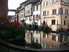 Riquewihr Alsace near Colmar - France. Riquewihr in Alsace is one of the most beautiful and romantic village in France