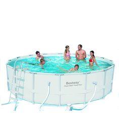 """16' x 48"""" Power Steel Frame Pool - Bestway Inflatables - Toys """"R"""" Us"""