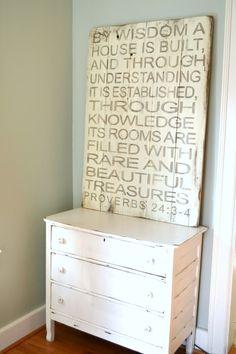 By wisdom a house is built || Aimee Weaver Designs