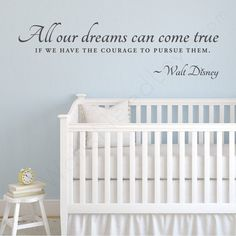 "Search Results for ""wallsneedlove wall decals walt disney wall quote decal – domino Vinyl Wall Quotes, Vinyl Wall Decals, Quote Wall, Girl Room Quotes, Striped Room, Walt Disney Quotes, Dream Wall, Baby Room, Dreaming Of You"