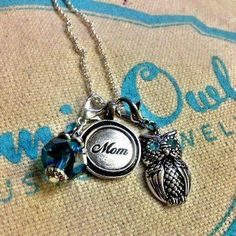 mom tag and dangles Origami Owl