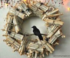 Edgar Allan Poe wreath