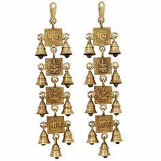 Brass Shubh Labh Bell