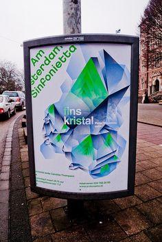 Amsterdam Sinfonietta by Studio Dumbar