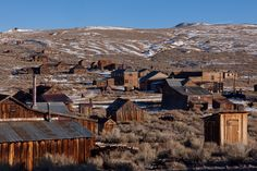 Ghost town in California: Bodie