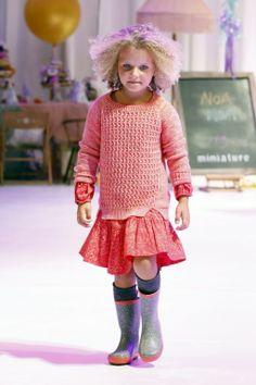 ALALOSHA: VOGUE ENFANTS: Noa Noa Miniature Spring-Summer 2014 Runway Show