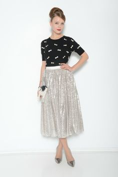 Alice + Olivia Pre-Fall 2014, #3 / Well, of course.