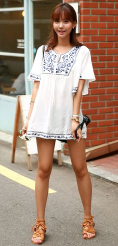 [LUXE ASIAN: ASIAN WOMEN'S FASHION] SIMPLE PLAN DRESS
