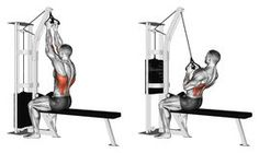 Exercising. Reverse Grip Lat Pulldown - Download From Over 66 Million High Quality Stock Photos, Images, Vectors. Sign up for FREE today. Image: 68612577