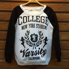 College Printed Sweatshirt wholesale 7$ article # acte-011