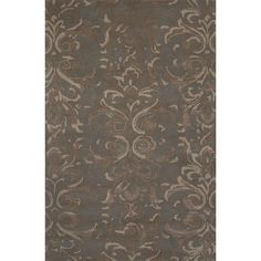 JaipurLiving Timeless By Jennifer Adams Wool and Art Silk Hand Tufted Abbey Stone Area Rug Rug Size: