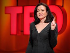 Facebook COO Sheryl Sandberg looks at why a smaller percentage of women than men reach the top of their professions -- and offers 3 powerful pieces of advice to women aiming for the C-suite.