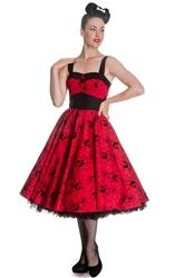 Hell Bunny Gothic Black Widow Dress - £44.99