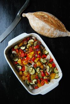 Mediterranean Feta and Vegetable Casserole ° eat in my kitchen