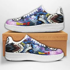 Vegeta Air Sneakers Dragon Ball Z Anime Shoes Fan Gift PT04-GearAnime Nmd Sneakers, Grey Sneakers, Nike Shoes Air Force, Air Jordan Shoes, Shoe Collection, Your Shoes, Dragon Ball Z, Fashion Shoes, Air Jordans