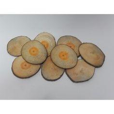 RODAJAS REDONDAS PINO 12-13cm (10 uds) #natural #madera #materiales #decoración