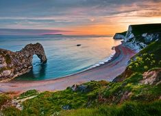 Jurassic Coast also known as Dorset Coast is a World Heritage Site on the English Channel coast of s