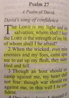 Psalm the Word of God. Prayer Scriptures, Bible Prayers, Faith Prayer, Prayer Quotes, Bible Verses Quotes, Faith In God, Faith Quotes, Spiritual Quotes, Bible Psalms