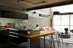 Beautiful Houses: Industrial Loft in Sao Paulo