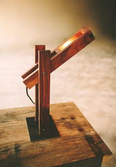 This Plover lamp was inspired by the oil pumps driving between #Austin and the flatlands. Clean and simple lines ... like the open roads of West Texas. Handmade here in Austin by our friends at Petrified Design. http://petrifieddesign.com/products/plover-lamp