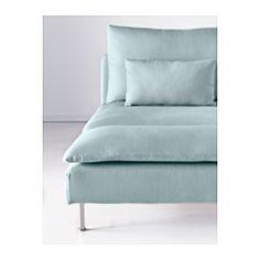 SÖDERHAMN Chaise longue, Isefall turquesa claro - Isefall turquesa claro - IKEA