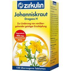 JOHANNISKRAUT DRAGEES H:   Packungsinhalt: 120 St Überzogene Tabletten PZN: 01569771 Hersteller: Roha Arzneimittel GmbH Preis: 3,64 EUR…