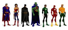 The Justice League in Young Justice