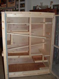 Well designed degu cage