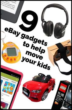 9 eBay Gadgets To Help Move Your Kids | Moving home is one of the most stressful events in a person's life, and adding children to the mix only enhances that stress.  So, if you could lessen the chaos by using a few simple gadgets to keep your children entertained, and in some cases even educated, you would, wouldn't you?