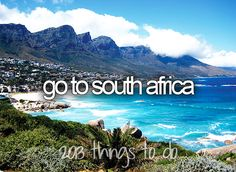 Go to South Africa / Bucket List Ideas / Before I Die / #BLI_Countries