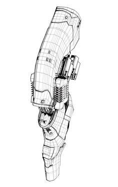 cgi, leg, 3D
