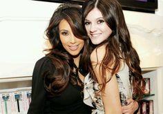 Love the brown on black hair!!!