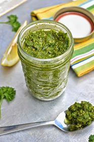 Pure and Simple Nourishment : Fresh Parsley Pesto (Paleo, GAPS, SCD)