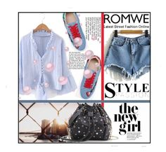 """""""ROMWE 3/XIV"""" by saaraa-21 ❤ liked on Polyvore featuring romwe, shop and polyvorefashion"""