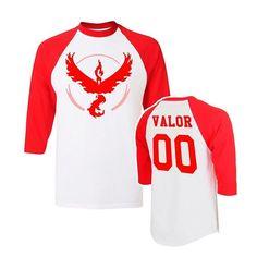 Ranglan Pokemon Go Team Valor Men's T-Shirt
