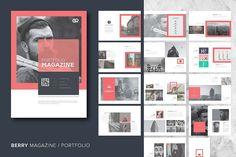 Berry Magazine / Portfolio by Studio Designs on @creativemarket