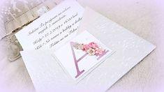 MagicArt / Pozvánka alebo pohľadnica Birthday Invitations, Place Cards, Monogram, Place Card Holders, Monograms, Anniversary Party Invitations