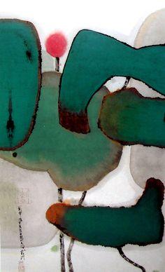 CHEN JIALING  Yongkang, Zhejiang (born 1937) Graduated from the Department of Chinese painting at the Academy of Fine Arts in Zhejiang, in 1963. He studied figure painting with master Pan Tianshou . Wu Guanzhong and Lu also Yanshao were his teachers