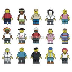 """""""Lego Guys"""" T-Shirts & Hoodies by miners 