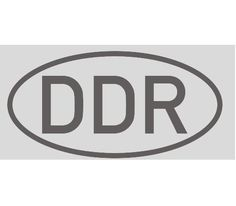Aufkleber DDR / mehr Infos auf: www.Guntia-Militaria-Shop.de