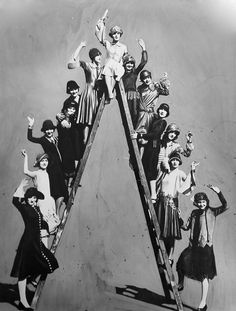 The WAMPAS Baby Stars of 1926, including Joan Crawford, Mary Astor, Janet Gaynor, Fay Wray, and Dolores Del Rio: