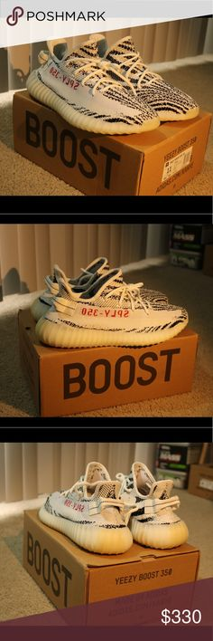 Adidas Yeezy Boost 350 V2 Zebras Yeezy boost 350 V2 Zebras  DEADSTOCK Brand new, Never worn  Comes in with a box and everything  Size 11 only one left  Shoot my an offer if interested Leave a comment for my number Yeezy Shoes Sneakers