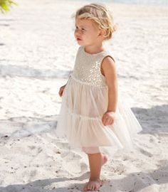 also comes in a petal pink version with more tulle tiers  ~  gold dust tiered dress - Chasing Fireflies