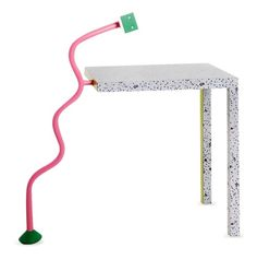 Paddle8: Table with Lamp - Michele de Lucchi