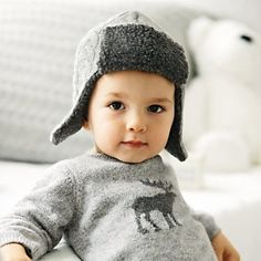 Baby Trapper Hat from The White Company £16.00