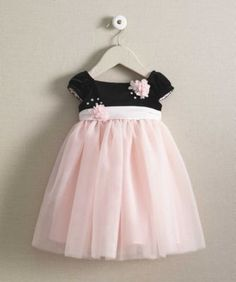 girls velvet sparkle empire-waist dress
