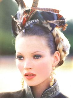 1992 | October | VOGUE ITALIA with Kate Moss