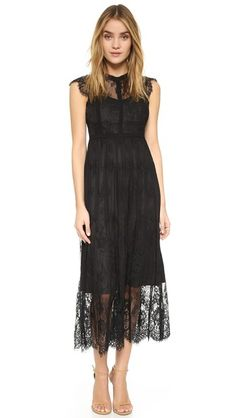 Parker Parker Black Tesoro Dress