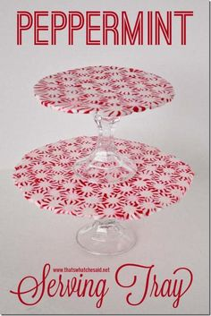 Peppermint Serving Tray at thatswhatchesaid.net